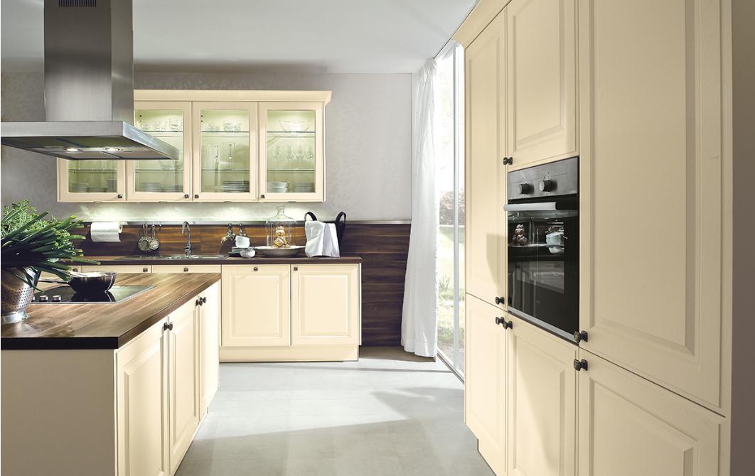 hout, keuken met houten aanrechtblad en achterkant