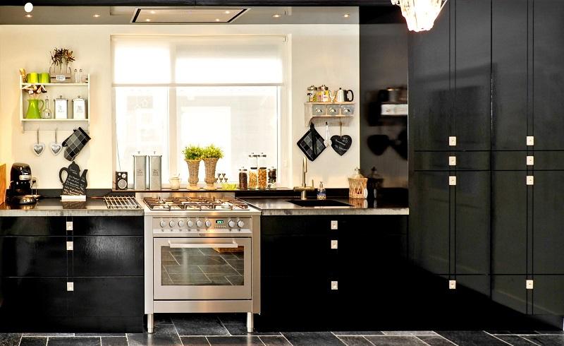 Zwarte Keuken Met Hout : Modern klassieke keukens Kuys Keukens klik hierKuys Keukens