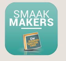 smaakmakers app via de appstore een app vol inspiratie en informatie